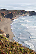 Coastal view from Pacific Highway 1, California, USA