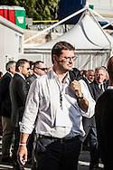 Emiliano Albensi<br /> 29/10/2016 Roma (Italia)<br /> Manifestazione PD Basta un S&igrave;<br /> Nella foto: Gennario Migliore, sottosegretario al Ministero della Giustizia<br /> <br /> Emiliano Albensi<br /> 29/10/2016 Rome (Italy)<br /> Democratic Party demonstration in support of the Constitutional Reform referendum<br /> In the picture: Gennaro Migliore, Undersecretary of the Justice Minister
