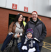 Dundee fans at Celtic Park - Celtic v Dundee,  at Celtic Park in the Clydesdale Bank Scottish Premier League.. - © David Young - www.davidyoungphoto.co.uk - email: davidyoungphoto@gmail.com
