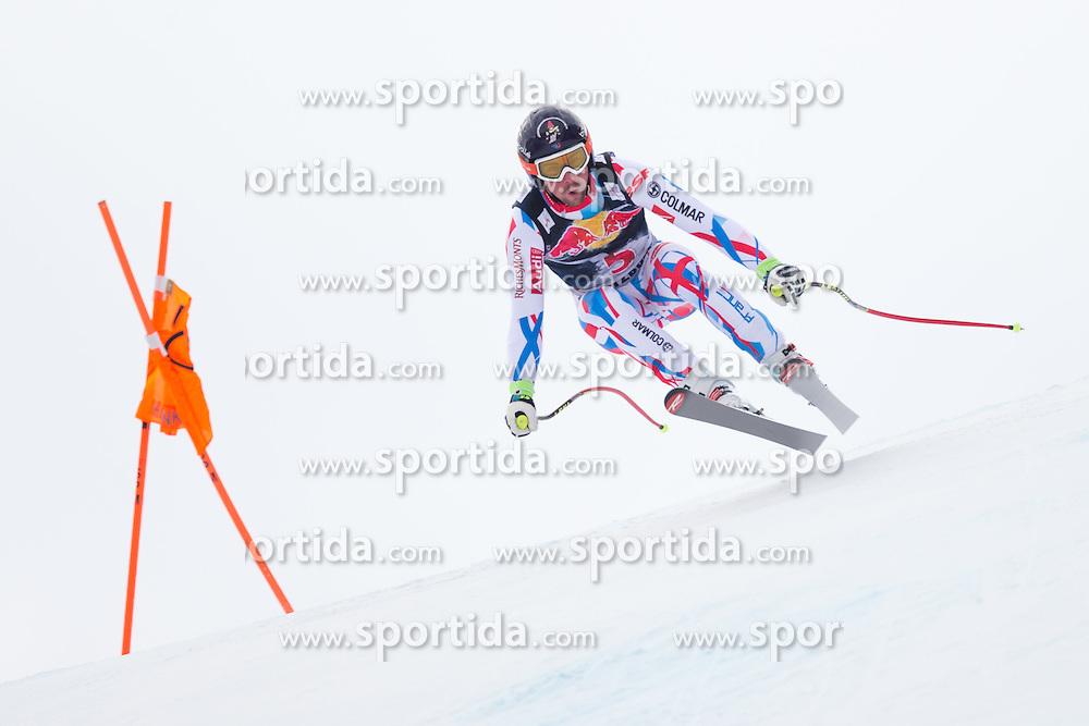 19.01.2016, Streif, Kitzbuehel, AUT, FIS Weltcup Ski Alpin, Kitzbuehel, 1. Abfahrtstraining, Herren, im Bild Maxence Muzaton (FRA) // Maxence Muzaton of France in action during 1st Training of the men's Downhill Race of Kitzbuehel FIS Ski Alpine World Cup at the Streif in Kitzbuehel, Austria on 2016/01/19. EXPA Pictures © 2016, PhotoCredit: EXPA/ Johann Groder