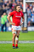 Josh Navidi (#6) of Wales during the Guinness Six Nations match between Scotland and Wales at BT Murrayfield Stadium, Edinburgh, Scotland on 9 March 2019.