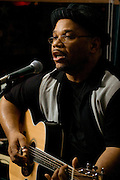 Portrait of Norman Taylor during a joint appearance including Patty Blee at the Bus Stop Music Cafe in Pitman, NJ.