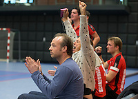ROTTERDAM - Schaerweijde coach Bas Bogaard .NK Zaalhockey hoofdklasse. FOTO KOEN SUYK