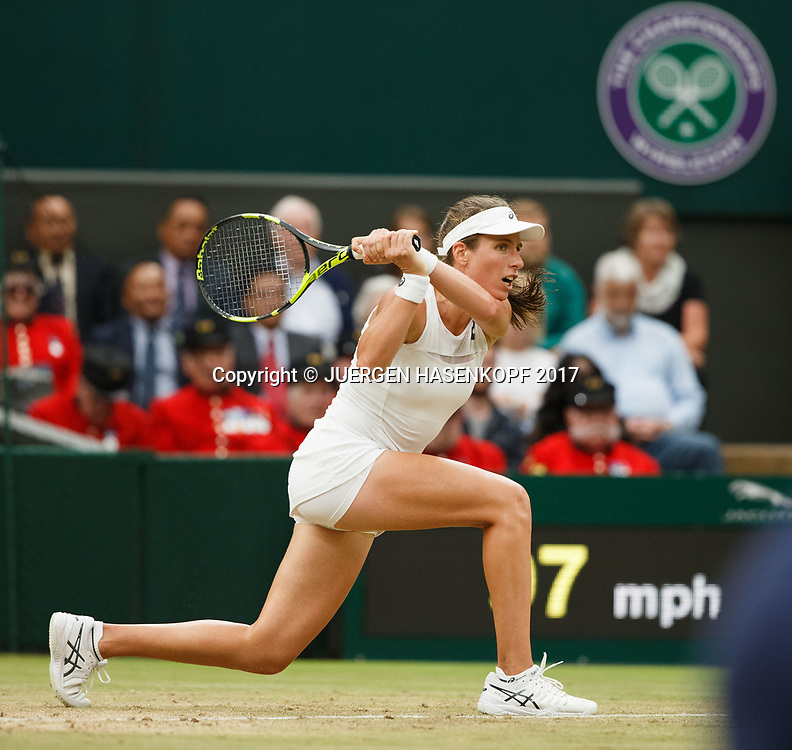 JOHANNA KONTA (GBR)<br /> <br /> Tennis - Wimbledon 2017 - Grand Slam ITF / ATP / WTA -  AELTC - London -  - Great Britain  - 11 July 2017.