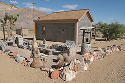 Bottle House near the Rhyolite Ghost Town, Nevada