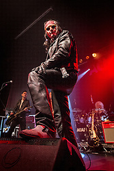 © Licensed to London News Pictures . 01/04/2014 . Manchester , UK . Adam Ant performs at the Manchester Ritz this evening (Tuesday 1st April 2014) . Photo credit : Joel Goodman/LNP