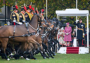 Queen Elizabeth Inspects King Troop on 70th Anniversary