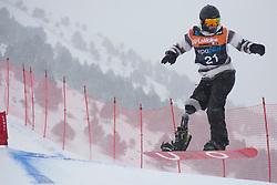 JORGENSEN Daniel, Snowboarder Cross, 2015 IPC Snowboarding World Championships, La Molina, Spain