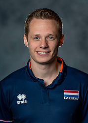 14-05-2019 NED: Photoshoot national volleyball team Women, Arnhem<br /> Erik Reitsma - assistent trainer papendal