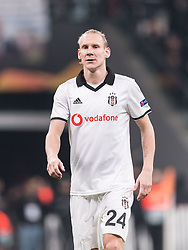 Domagoj Vida of Besiktas JK during the UEFA Europa League group I match between between Besiktas AS and Malmo FF at the Besiktas Park on December 13, 2018 in Istanbul, Turkey