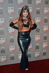 © Licensed to London News Pictures. 26/10/2017. London, UK. Olivia Buckland from Love Island attends the Kiss House Party Live event at the SSE Wembley Arena. Photo credit: Ray Tang/LNP