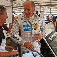 Hans-Joachim Stuck, Porsche factory driver at the Goodwood FOS 2013