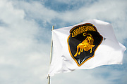 March 17-19, 2016: Mobile 1 12 hours of Sebring 2016. Lamborghini flag waving at Sebring