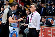 DESCRIZIONE : Final Eight Coppa Italia 2015 Desio Semifinale Olimpia EA7 Emporio Armani Milano - Enel Brindisi<br /> GIOCATORE : arbitro Piero Bucchi<br /> CATEGORIA : delusione arbitro<br /> SQUADRA : Enel Brindisi arbitro<br /> EVENTO : Final Eight Coppa Italia 2015 <br /> GARA : Olimpia EA7 Emporio Armani Milano - Enel Brindisi<br /> DATA : 21/02/2015<br /> SPORT : Pallacanestro <br /> AUTORE : Agenzia Ciamillo-Castoria/Max.Ceretti