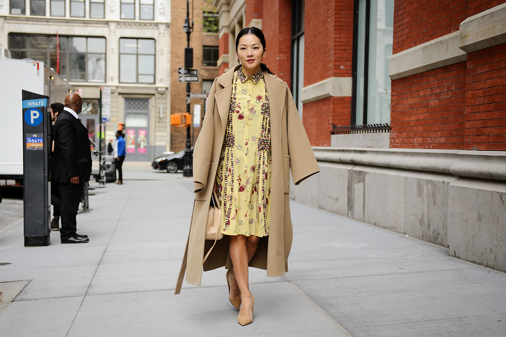 Tina Leung at Valentino Resort 2018
