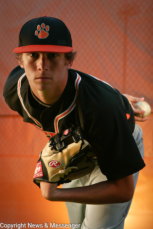 All-Area Baseball player of the year, Brentsville's Justin Weaver.  For The News & Messenger