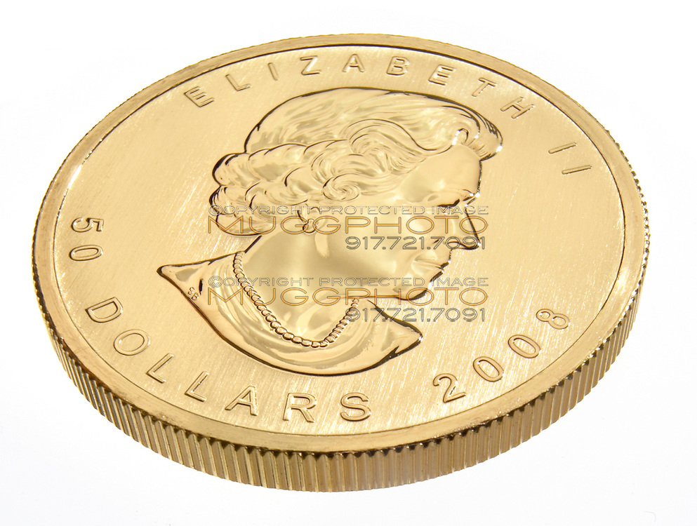 1 ounce gold coin top side