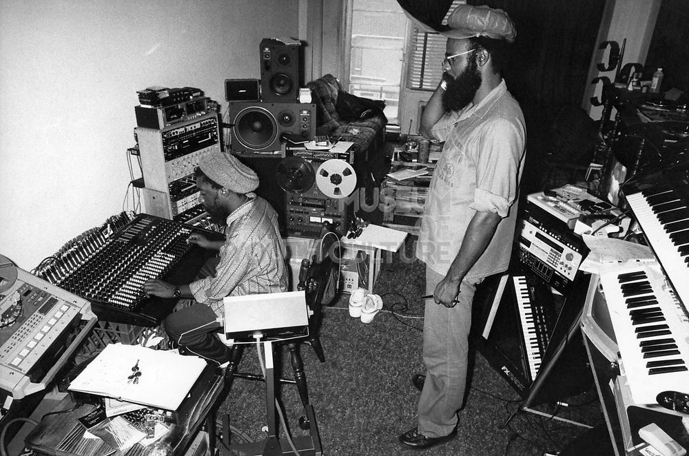 Living Room Studio, Brooklyn, New York, USA, 1988