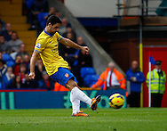 Picture by David Horn/Focus Images Ltd +44 7545 970036<br /> 26/10/2013<br /> Mikel Arteta of Arsenal scores the opening goal from the penalty spot during the Barclays Premier League match at Selhurst Park, London.