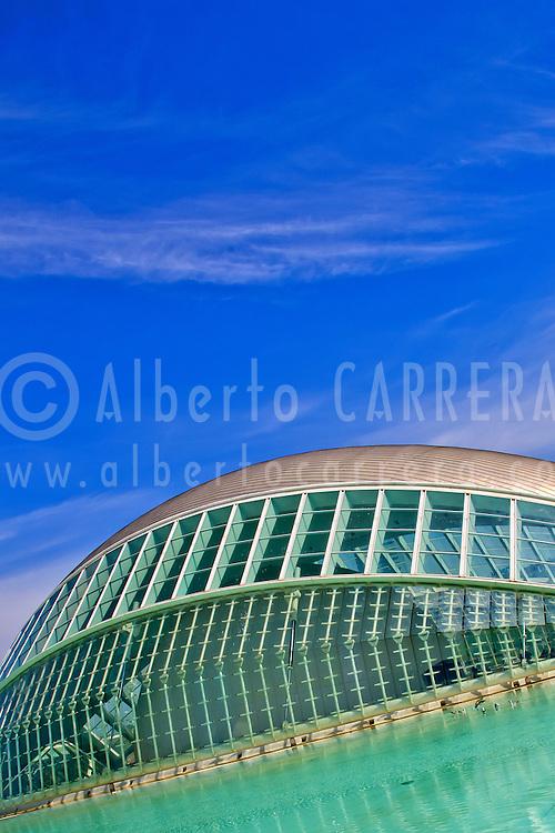 Alberto Carrera, Hemisferic, City of Arts and Sciences, Valencia Comunity, Valencia, Spain, Europe