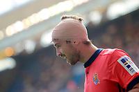 Real Sociedad's Inigo Martinez injured during La Liga match. September 10,2017. (ALTERPHOTOS/Acero)