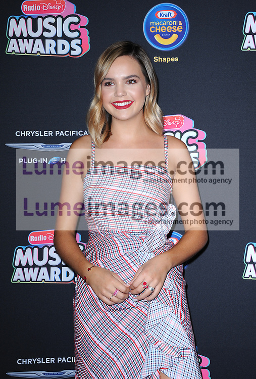 Bailee Madison at the 2018 Radio Disney Music Awards held at the Loews Hotel in Hollywood, USA on June 22, 2018.