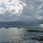 West Bay Beach. Grand Cayman Island.