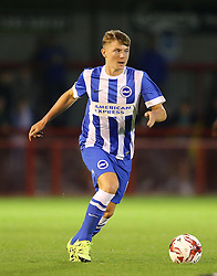 James Tilley of Brighton and Hove Albion - Mandatory by-line: Paul Terry/JMP - 22/07/2015 - SPORT - FOOTBALL - Crawley,England - Broadfield Stadium - Crawley Town v Brighton and Hove Albion - Pre-Season Friendly