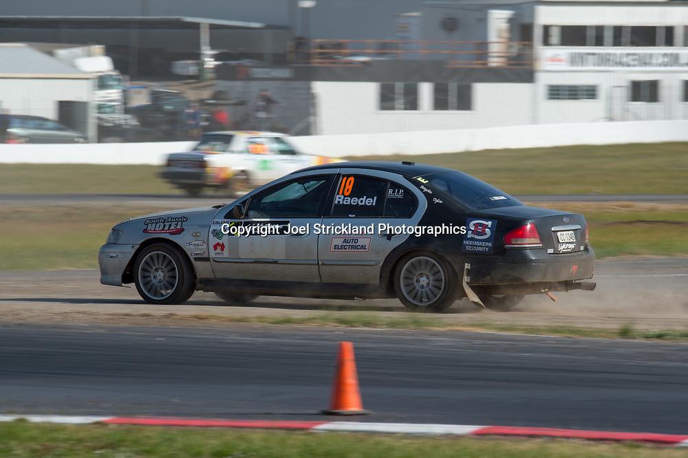 Kevin Raedel - Ford Falcon BA - Rallycross Australia - Winton Raceway - 16th July 2017