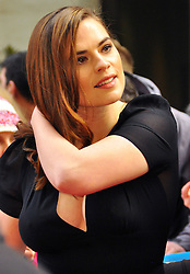 Actress Hayley Atwell attends the Jameson Empire Awards 2015 at Grosvenor House Hotel in London, UK. 29/03/2015<br />BYLINE MUST READ : GOTCHAIMAGES.COM<br /><br />Copyright by © Gotcha Images Ltd. All rights reserved.<br />Usage of this image is conditional upon the acceptance <br />of Gotcha Images Ltd, terms and conditions available at<br />www.gotchaimages.com