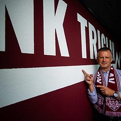 20200803: SLO, Football - Portrait of Damjan Gajser, new head coach of NK Triglav
