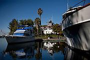 The San Francisco Yacht Club on Tinsley Island, September 15, 2010.