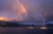 Rainbow, Kaneohe Bay, Oahu, Hawaii<br />