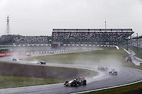 Nico Hulkenberg (GER) Sahara Force India F1 VJM07.<br /> Japanese Grand Prix, Sunday 5th October 2014. Suzuka, Japan.