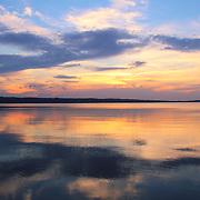 &quot;Majestic Mirror&quot;<br /> <br /> Wonderful pastel sunset on the Great Lakes!!<br /> <br /> Sunset Images by Rachel Cohen