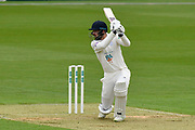 James Vince of Hampshire batting during the Specsavers County Champ Div 1 match between Hampshire County Cricket Club and Worcestershire County Cricket Club at the Ageas Bowl, Southampton, United Kingdom on 13 April 2018. Picture by Graham Hunt.