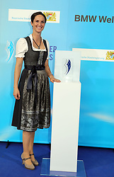 13.07.2019, BMW Welt, Muenchen, GER, Bayerischer Sportpreis Verleihung, im Bild Botschafterin des Bayerischen Sports Simone Blum // during the Bavarian Sports Award at the BMW Welt in Muenchen, Germany on 2019/07/13. EXPA Pictures © 2019, PhotoCredit: EXPA/ SM<br /> <br /> *****ATTENTION - OUT of GER*****
