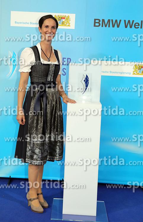 13.07.2019, BMW Welt, Muenchen, GER, Bayerischer Sportpreis Verleihung, im Bild Botschafterin des Bayerischen Sports Simone Blum // during the Bavarian Sports Award at the BMW Welt in Muenchen, Germany on 2019/07/13. EXPA Pictures © 2019, PhotoCredit: EXPA/ SM<br /> <br /> *****ATTENTION - OUT of GER*****