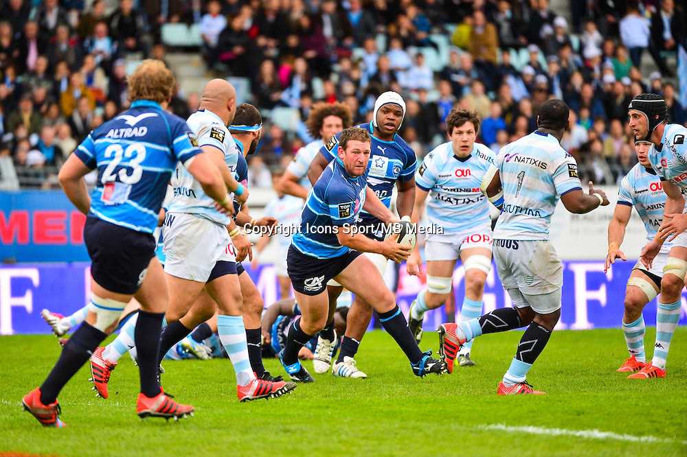 Chris KING  - 11.04.2015 - Racing Metro / Montpellier  - 22eme journee de Top 14 <br />
