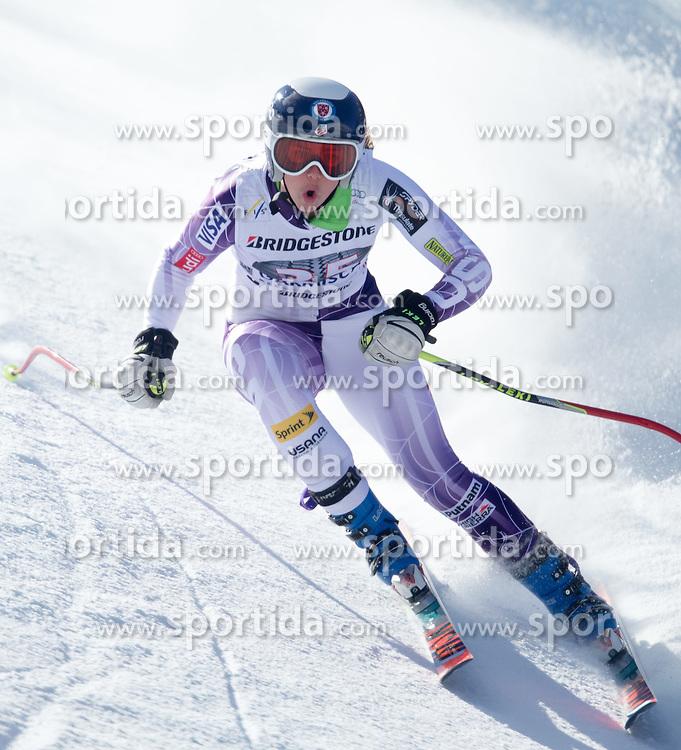 06.03.2015, Kandahar, Garmisch Partenkirchen, GER, FIS Weltcup Ski Alpin, Abfahrt, Damen, 1. Trainingslauf, im Bild Julia Ford (USA) // Julia Ford of the United States during 1st training run for the ladie's Downhill of the FIS Ski Alpine World Cup at the Kandahar course, Garmisch Partenkirchen, Germany on 2015/03/06. EXPA Pictures © 2015, PhotoCredit: EXPA/ Johann Groder