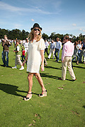 Penny Lancaster Stewart , The Veuve Clicquot Gold Cup 2007. Cowdray Park, Midhurst. 22 July 2007.  -DO NOT ARCHIVE-© Copyright Photograph by Dafydd Jones. 248 Clapham Rd. London SW9 0PZ. Tel 0207 820 0771. www.dafjones.com.