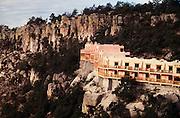 Copper Canyon. Hotel Barrancas - Rim.