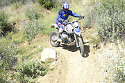 Roger Eggers riding his BMW HP2 during the pit competition at 2010 Rawhyde Adventure Rider Challenge
