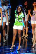 "November 22, 2009; Rancho Mirage, CA, USA; Miss Murrietta Teen USA Rikayah Crawford during the Miss California Teen USA 2010 Pageant at ""The Show"" at the Agua Caliente Resort & Spa. Mandatory Credit: Kyle Terada-Terada Photo"