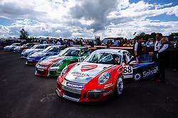 Dino Zamparelli | Bristol Sport Racing | #88 Porsche 911 GT3 Cup car | Porsche Carrera Cup GB | Race 2 - Mandatory byline: Rogan Thomson/JMP - 07966 386802 - 28/06/2015 - SPORT - MOTORSPORT - North Yorkshire, England - Croft Circuit - BTCC Meeting Day 2.