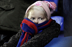 A young Crystal Palace looks unimpressed at The Madejski Stadium - Mandatory byline: Robbie Stephenson/JMP - 11/03/2016 - FOOTBALL - Madejski Stadium - Reading, England - Reading v Crystal Palace - Emirates FA Cup Quarter Final