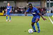 AFC Wimbledon defender Paul Osew (37) about to  cross the ball during the Pre-Season Friendly match between AFC Wimbledon and Crystal Palace at the Cherry Red Records Stadium, Kingston, England on 30 July 2019.