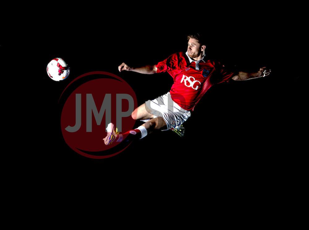 Bristol City's Wes Burns - Photo mandatory by-line: Joe Meredith/JMP - Mobile: 07966 386802 09/07/2014 - SPORT - FOOTBALL - Bristol - Ashton Gate - Bristol City Kit Launch