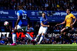 Richarlison of Everton scores a goal to make it 1-0 - Mandatory by-line: Robbie Stephenson/JMP - 01/09/2019 - FOOTBALL - Goodison Park - Liverpool, England - Everton v Wolverhampton Wanderers - Premier League