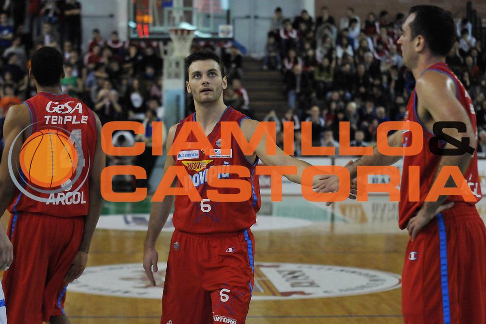 DESCRIZIONE : Casale Monferrato Lega A 2011-12 Novipiu Casale Monferrato Cimberio Varese<br /> GIOCATORE : Stefano Gentile<br /> CATEGORIA :&nbsp;Esultanza<br /> SQUADRA : Novipiu Casale Monferrato<br /> EVENTO : Campionato Lega A 2011-2012<br /> GARA : Novipiu Casale Monferrato Cimberio Varese<br /> DATA : 04/02/2012<br /> SPORT : Pallacanestro<br /> AUTORE : Agenzia Ciamillo-Castoria/L.Lussoso<br /> Galleria : Lega Basket A 2011-2012<br /> Fotonotizia :&nbsp;Casale Monferrato Lega A 2011-12 Novipiu Casale Monferrato Cimberio Varese<br /> Predefinita :